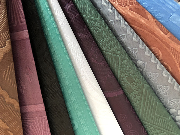 Embossed fabric series